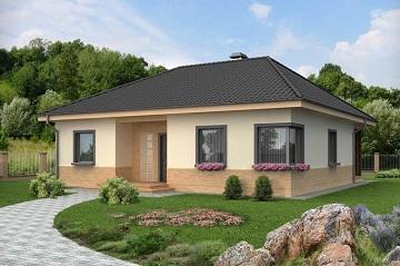 Найекономічніший проект одноповерхового будинку з цегли. Особливості ... f96dc5185652a